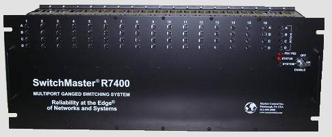 R7400 4U MultiPort Gang Switch Chassis